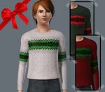Male Christmas Sweater